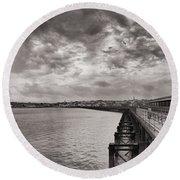 Island Panorama - Ryde Round Beach Towel