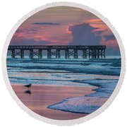 Isle Of Palms Morning Round Beach Towel