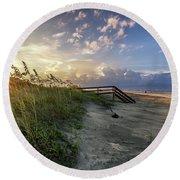 Isle Of Palms Sunstar Round Beach Towel