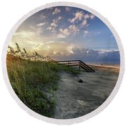 Isle Of Palms Sunstar Round Beach Towel