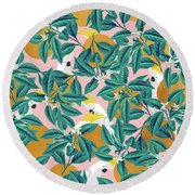 Isle Round Beach Towel