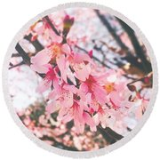 It Is A #gorgeous Spring Day Here In Round Beach Towel