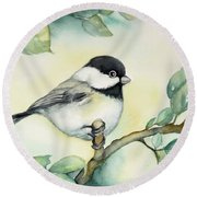 It Is So Cute Round Beach Towel by Inese Poga