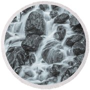 It Is The Nature Of Love To Work In A Thousand Different Ways.  Round Beach Towel