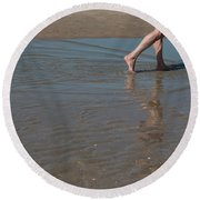 Round Beach Towel featuring the photograph It Only Takes One by Ana Mireles