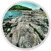 It Rocks  Round Beach Towel by Aimelle