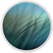 It Takes Courage To Stay Delicate Round Beach Towel