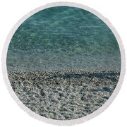 Italian Shore Round Beach Towel