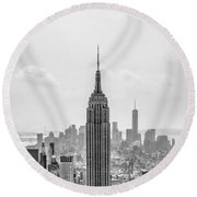 It's A Jungle Out There Round Beach Towel