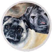 Jack And Bella Round Beach Towel