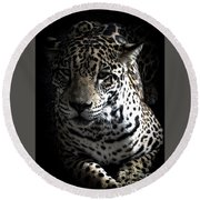Jaguar Round Beach Towel