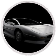 Jaguar Xj220 Round Beach Towel