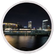 Jamaica Bay Round Beach Towel