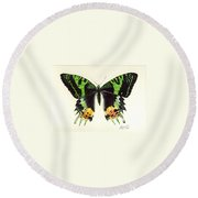 Jamaican Jewel Round Beach Towel