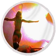 Jane's Addiction Round Beach Towel
