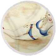 Jax Round Beach Towel