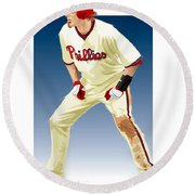 Jayson Werth Round Beach Towel