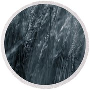 Jazz Grass -  Round Beach Towel