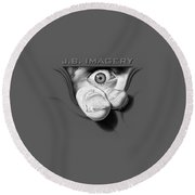 J.b. Imagery Round Beach Towel