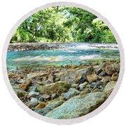 Jemerson Creek Round Beach Towel