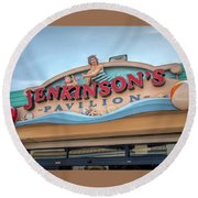 Jenkinson's Pavilion Round Beach Towel