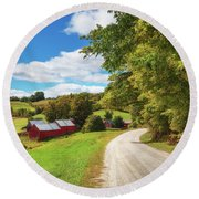 Jenne Farm Round Beach Towel