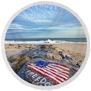 Jetty Four Beach Round Beach Towel