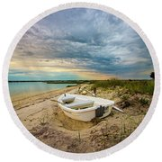 Jetty Four Dinghy Round Beach Towel