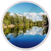 Jim Jim Creek - Kakadu National Park, Australia Round Beach Towel