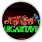 Jimmy Buffett's Margaritaville Round Beach Towel