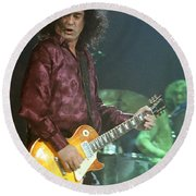 Jimmy Page-0005 Round Beach Towel