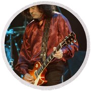 Jimmy Page-0020 Round Beach Towel