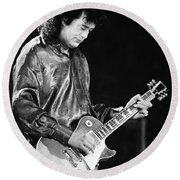 Jimmy Page-0023 Round Beach Towel