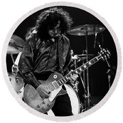 Jimmy Page-0047 Round Beach Towel