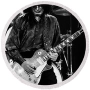 Jimmy Page-0048 Round Beach Towel