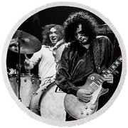 Jimmy Page-0057 Round Beach Towel