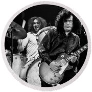 Jimmy Page-0058 Round Beach Towel