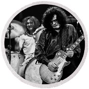 Jimmy Page-0061 Round Beach Towel