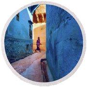 Jodhpur Colors Round Beach Towel