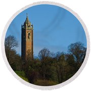 John Cabot Tower Round Beach Towel