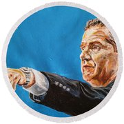 John Calipari Round Beach Towel