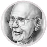 John Dingell Round Beach Towel