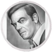 John Ireland Round Beach Towel