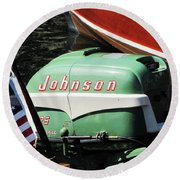 Johnson 25hp Round Beach Towel