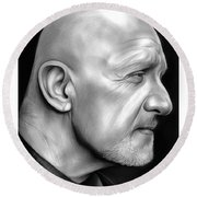 Jonathan Banks Round Beach Towel