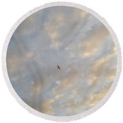 Jonathan Livingston Seagull Round Beach Towel