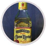Jose Cuervo Tequila Round Beach Towel