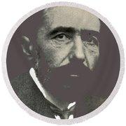 Joseph Conrad George Charles Beresford Photo 1904-2015 Round Beach Towel