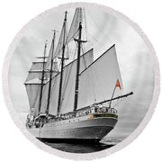 Juan Sebastian De Elcano In Its World Wild Travel Round Beach Towel