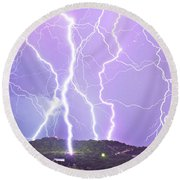 Judgement Day Lightning Round Beach Towel
